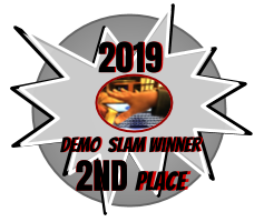 NSO Year 2 Technology Demo Slam, 2nd Place Badge
