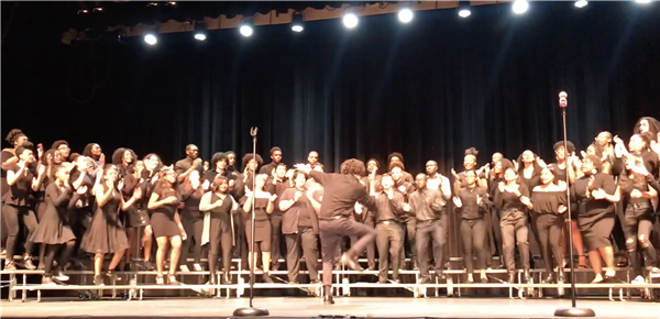 "WOHS Jubilee Choir - Kirk Franklin ""Stomp"""