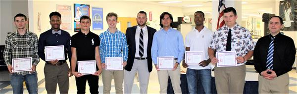 WOHS Boys Lacrosse Kirst Awards