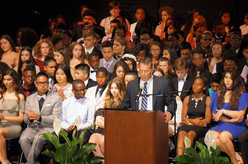 Liberty Middle School Graduates 288 on June 20