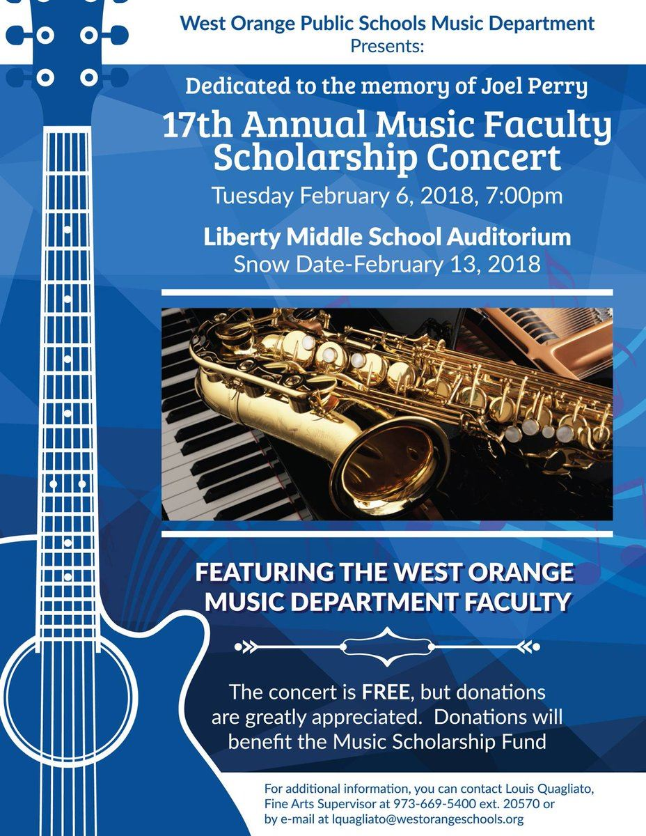 Faculty Music Concert