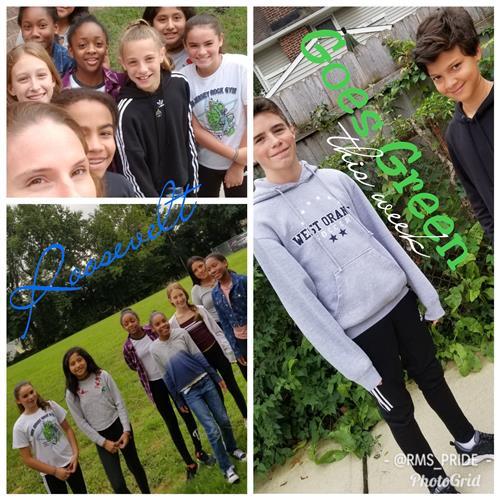 West Orange Schools Participate in Green Ribbon Week
