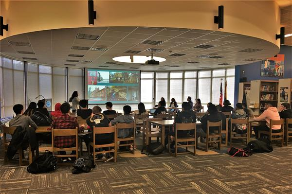 Architectural Design Panel Meets with West Orange High School Students