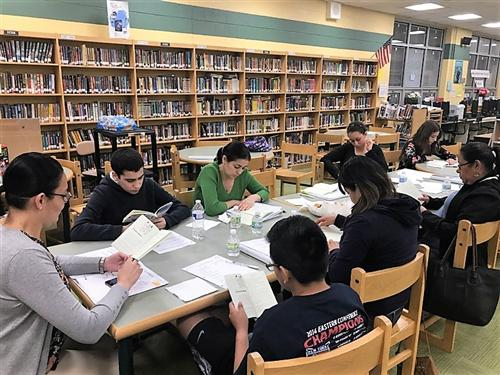 Latino Family Literacy Program Continues Success in West Orange School District