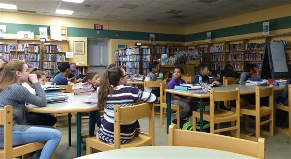 Edison Middle School Connects with West Orange Public Library Teen Department