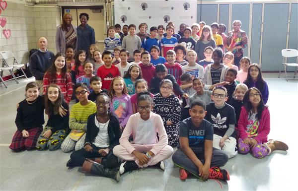 Alumna Marley Dias Visits St. Cloud Elementary School to Donate Classroom Books