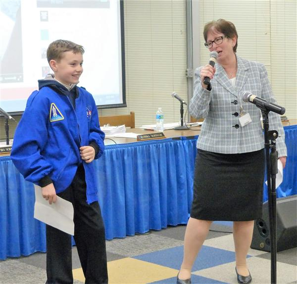 Students, Athletes Recognized at April 19 Board of Education Meeting