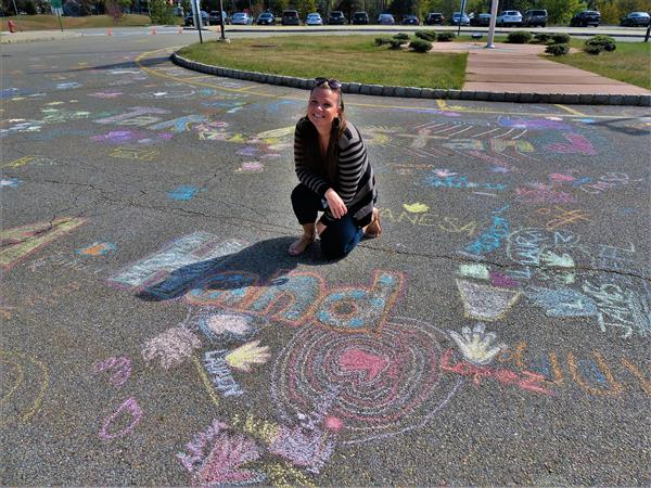 "Liberty and Roosevelt Middle Schools ""Chalk One Up"" for Respect"