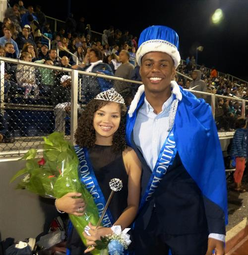 Class of 2018 Homecoming King and Queen Crowned