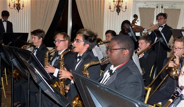 West Orange School Band Helps to Kick Off Holiday Season In Town