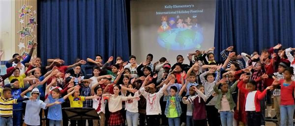 Annual Kelly Elementary Fifth Grade International Lunch Celebrates Diversity