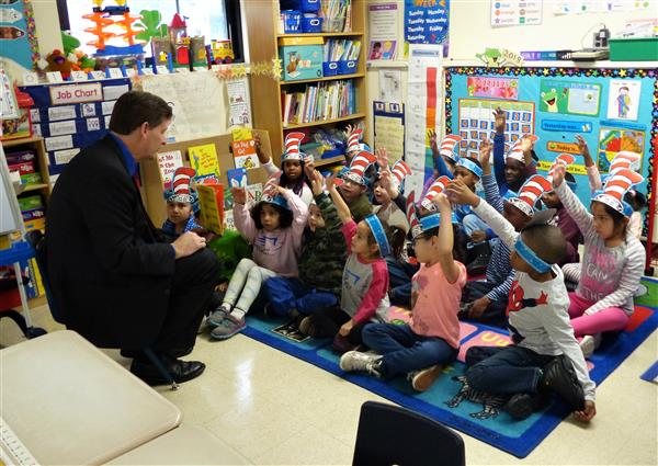 West Orange Elementary Schools Begin Read Across America Activities