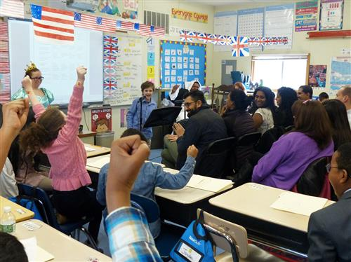 Patriots v. Loyalists Debate at Redwood Elementary Entertains and Informs