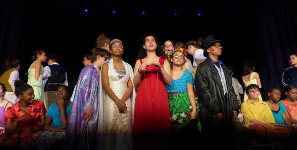 """Once On This Island Jr."" at Roosevelt Middle School a Stirring Experience"