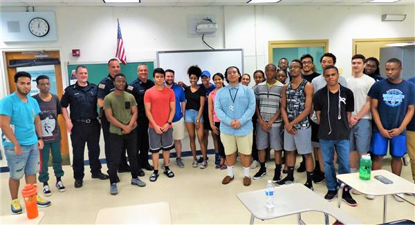 West Orange Fire Department Partners with High School CPR Classes