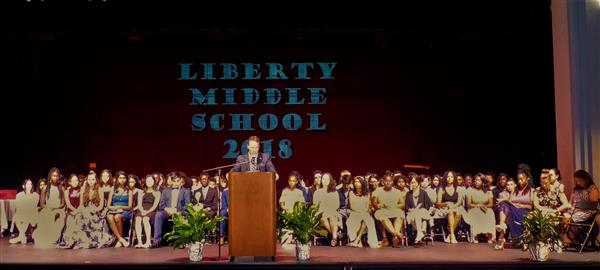 Liberty Middle School Graduates 251