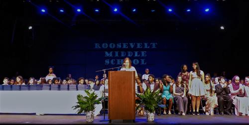 Roosevelt Middle School Graduation