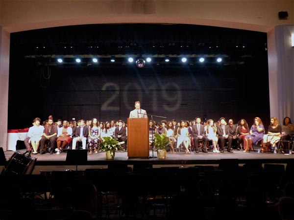 Liberty Middle School Graduation