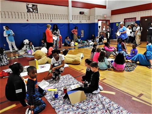 District Pajama Party Fosters Love of Reading