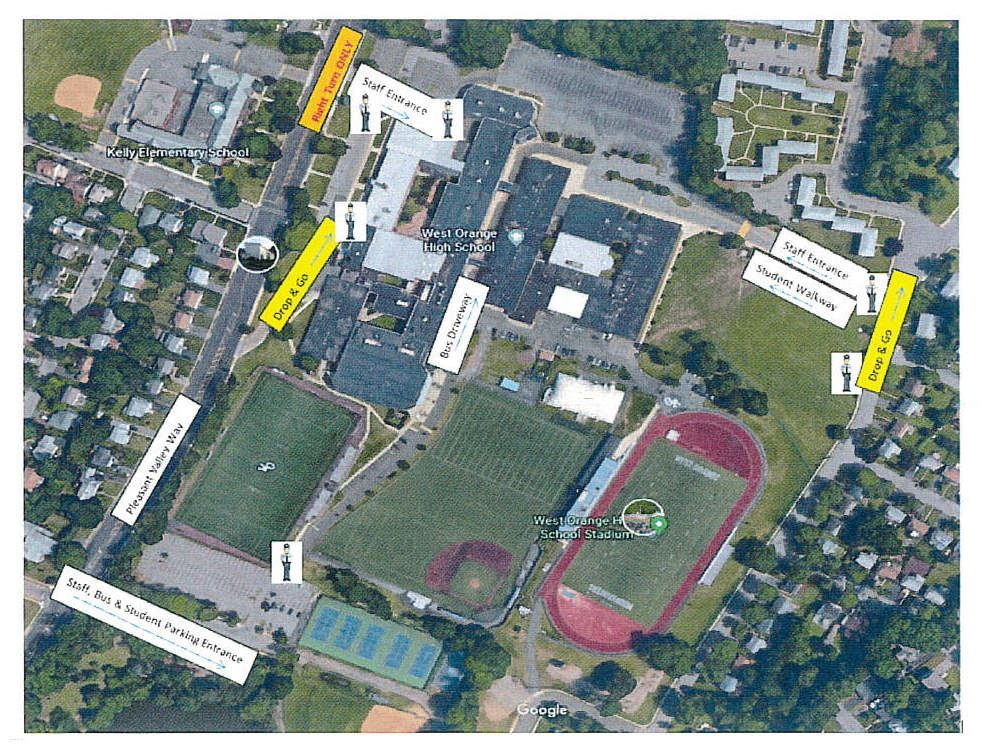 New Traffic Pattern In Effect for WOHS April 22, 2019