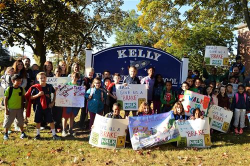 Kelly Walk to School Day
