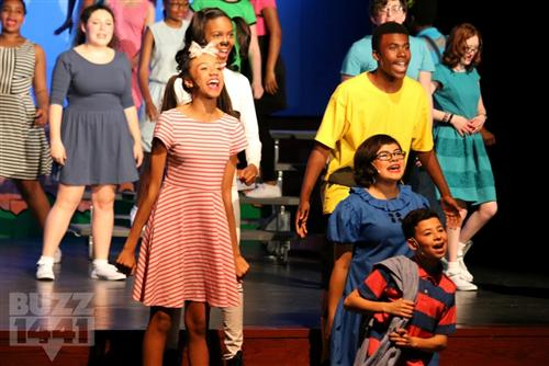 """You're A Good Man, Charlie Brown"" Shines at Liberty Middle School"