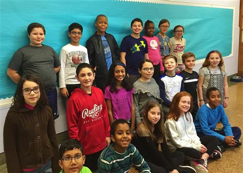 St. Cloud Fifth Grade Students Proud to Serve as Safety Patrol and Peer Leaders