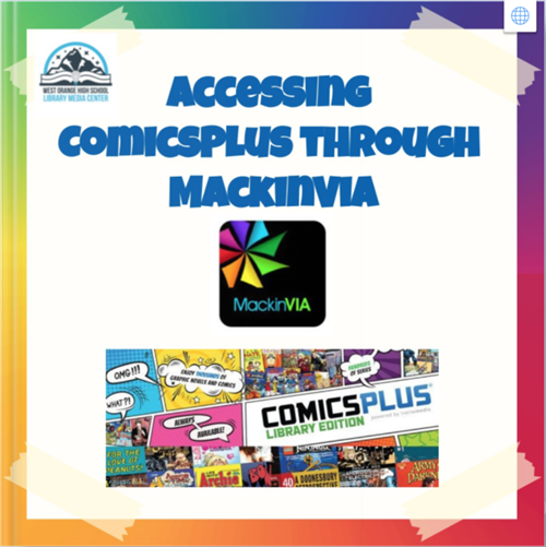 Accessing ComicsPlus!