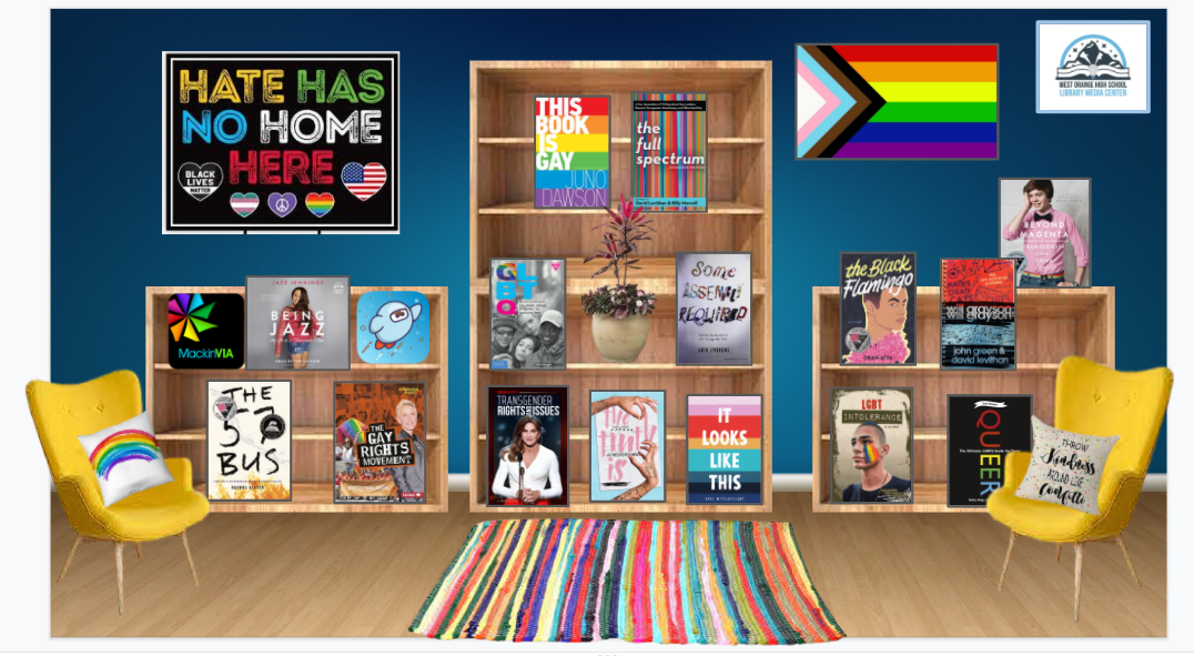LGBTQ Virtual Book Display