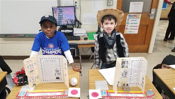 PICTURES: 2nd Grade Wax Museum